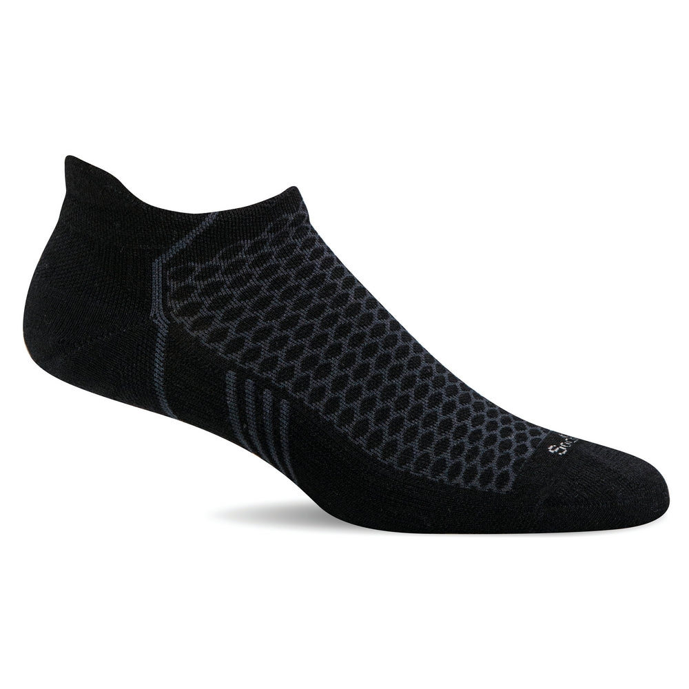 Incline Micro - Black Solid Moderate Compression