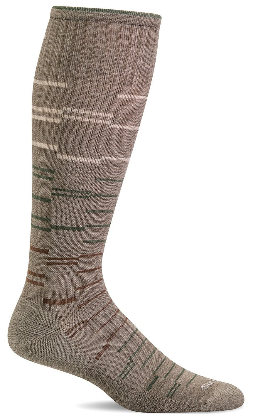 Dashing Knee-High - Khaki Moderate Compression (15-20mmHg)