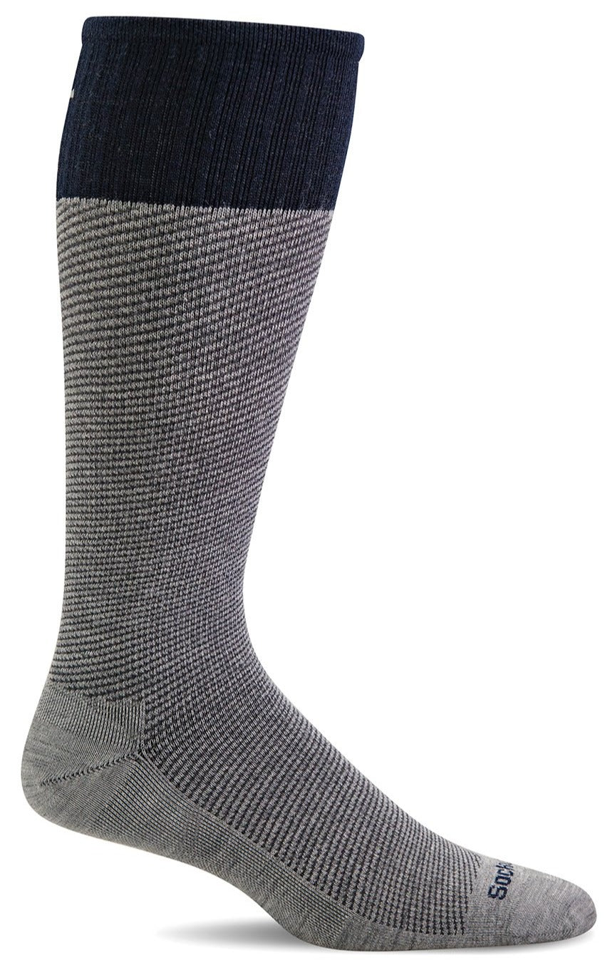 Bart Knee-High - Grey Moderate Compression (15-20mmHg)