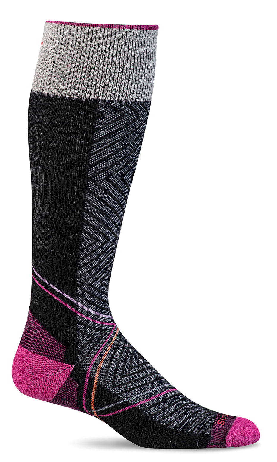 Pulse Knee-High - Black Firm Compression (20-30mmHG)