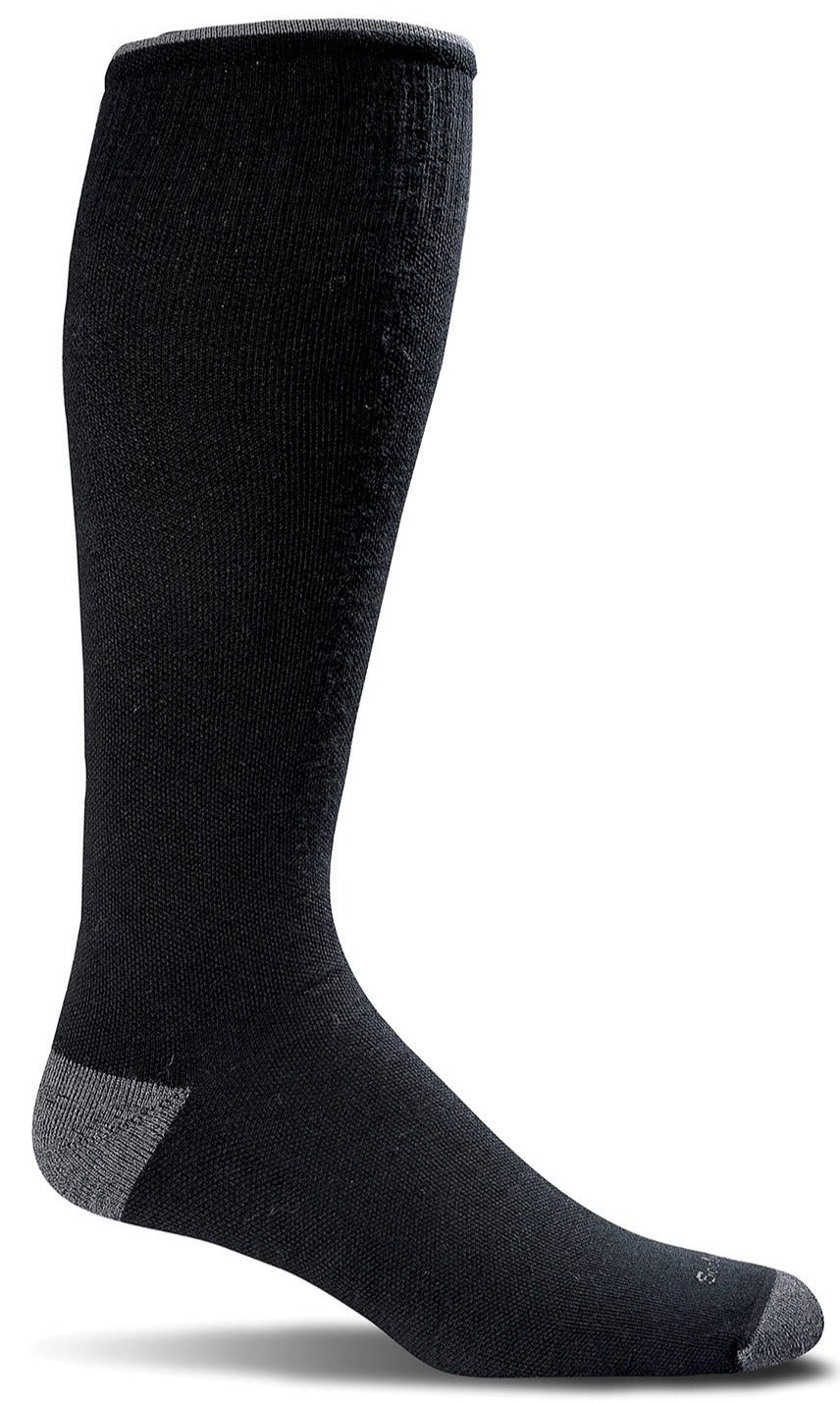 Elevation Knee-High - Black Firm Compression (20-30mmHG)