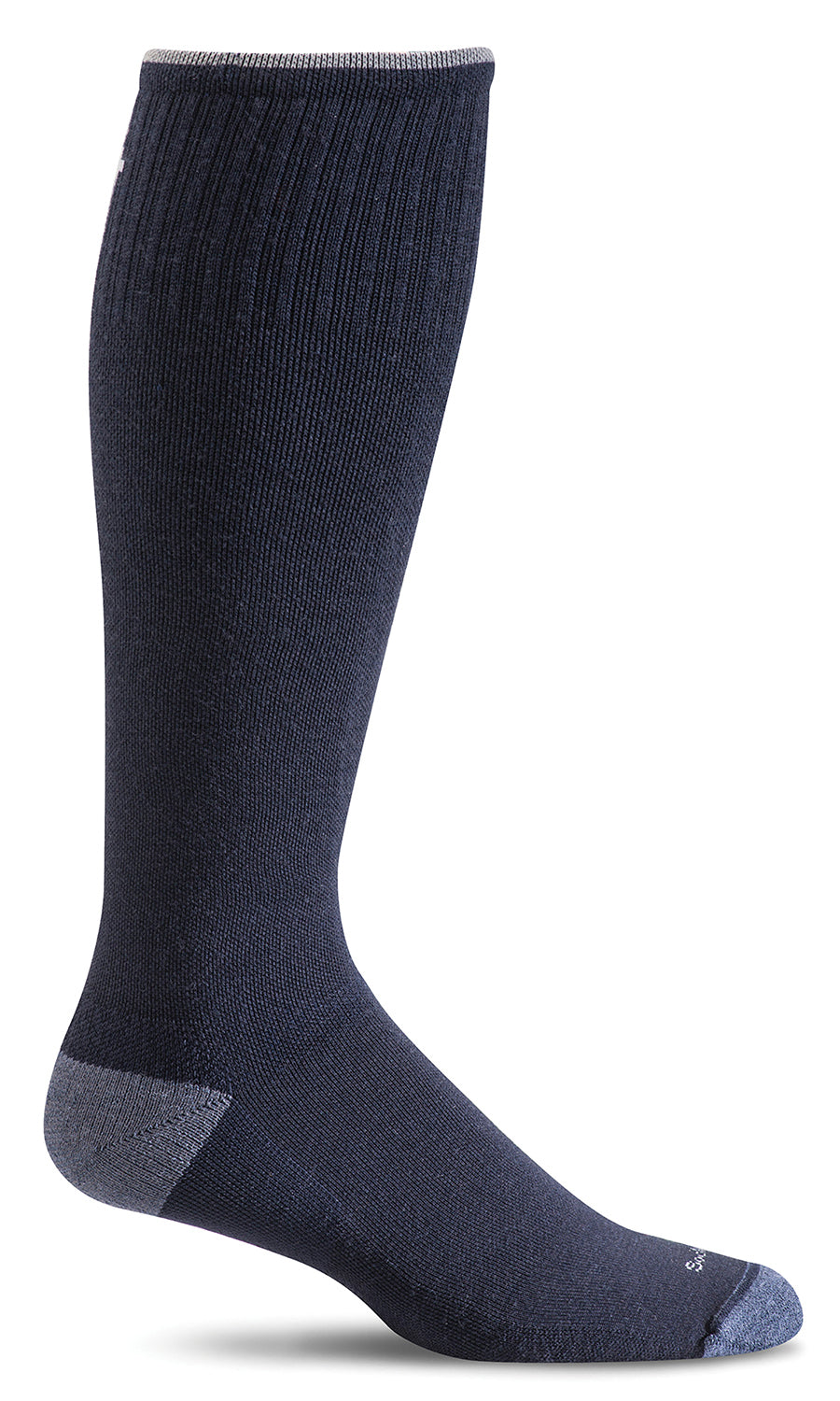 Elevation Knee-High - Navy Firm Compression (20-30mmHG)