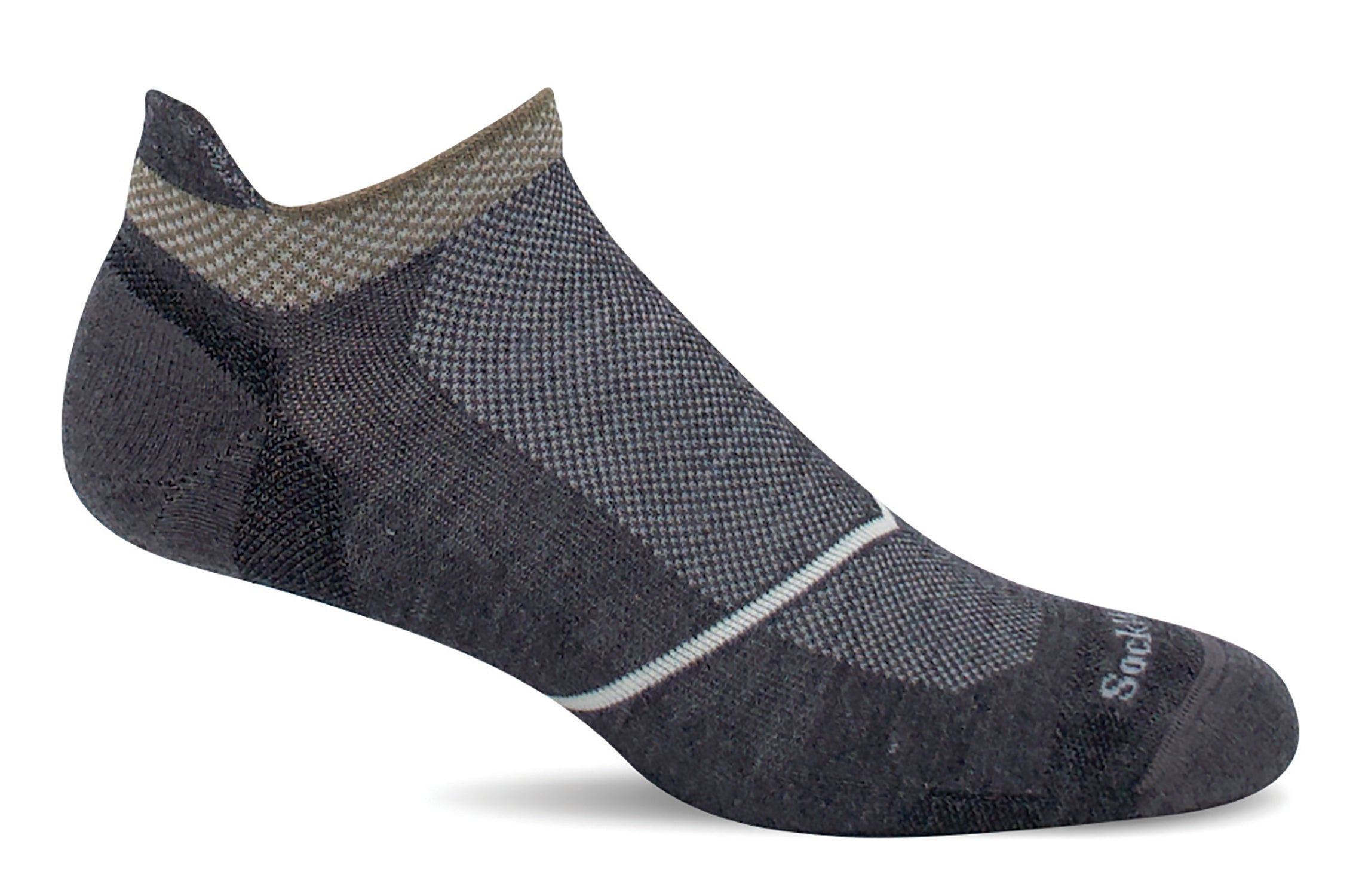 Pulse Micro - Charcoal Firm Compression