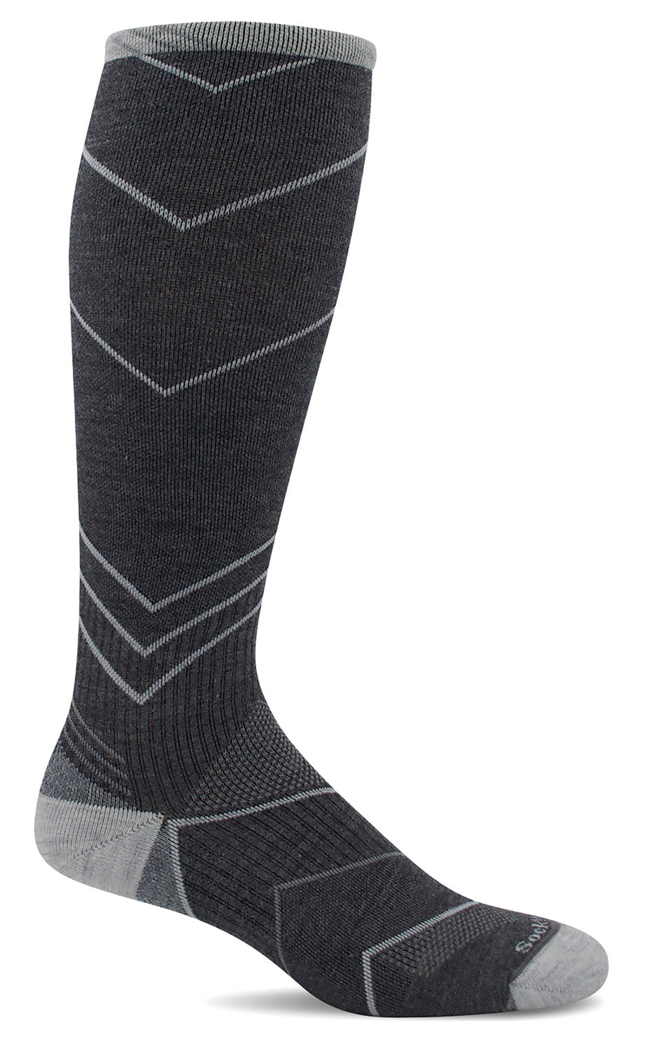 Incline OTC Knee-High - Charcoal Moderate Compression (15-20mmHg)