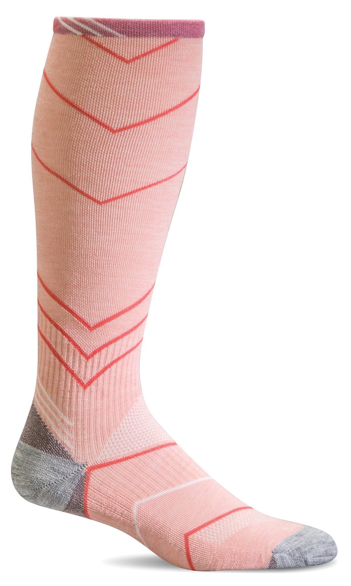 Incline Knee-High - Rose Moderate Compression (15-20mmHg)
