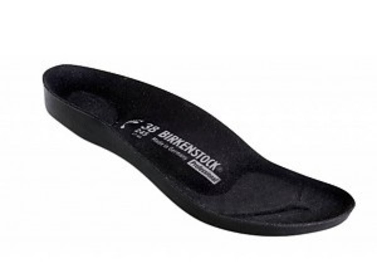 Profi Footbed - Black Microfiber & Latex