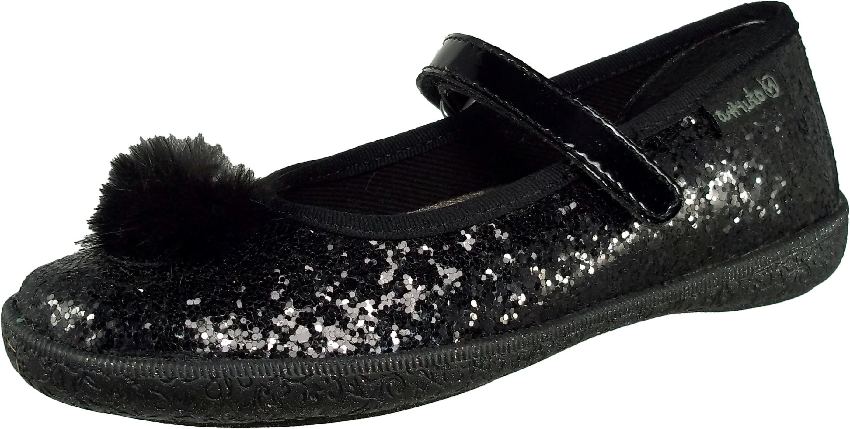 *FINAL SALE* Holiday - Glitter Black