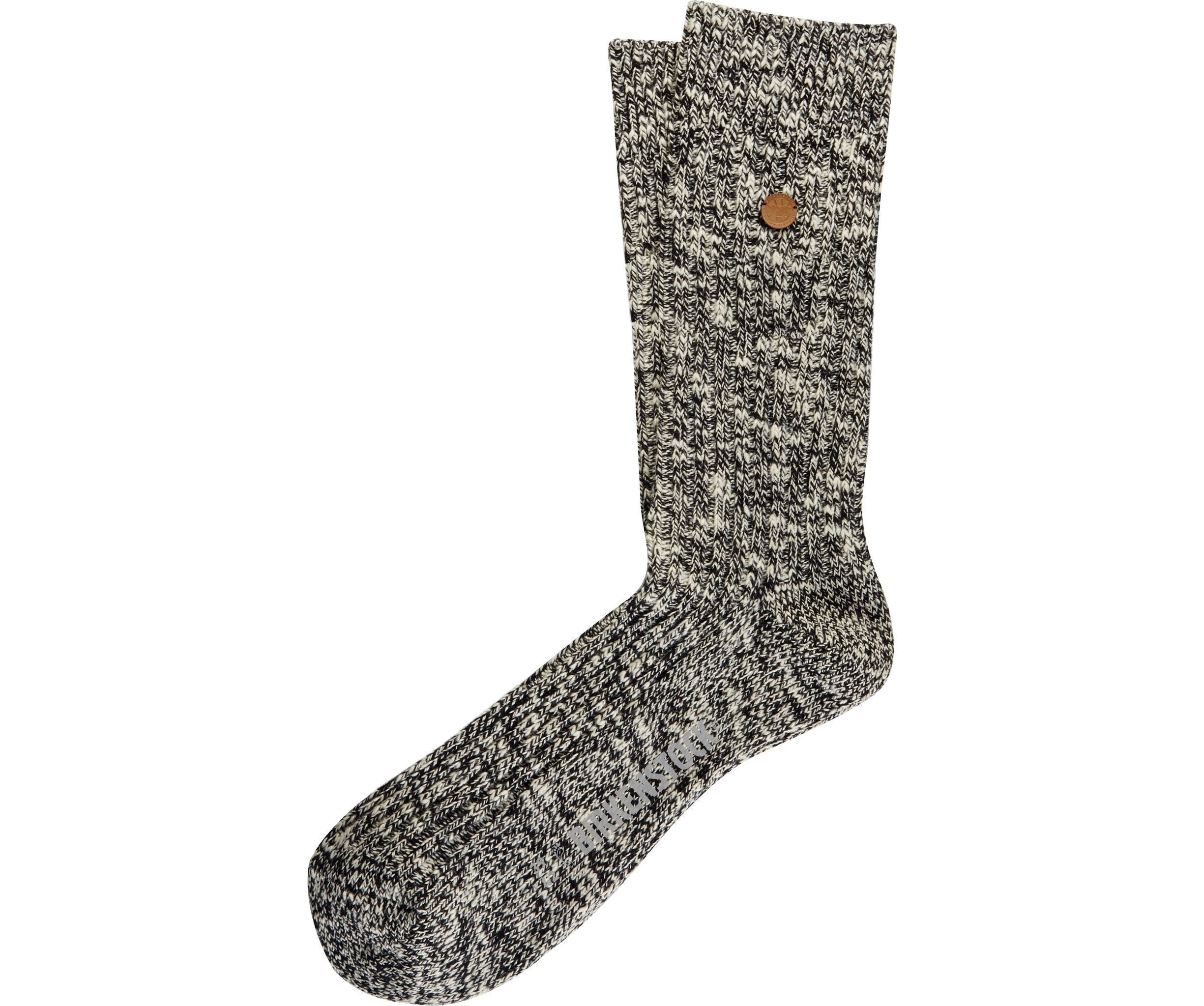 London Sock - Grey Cotton Lycra