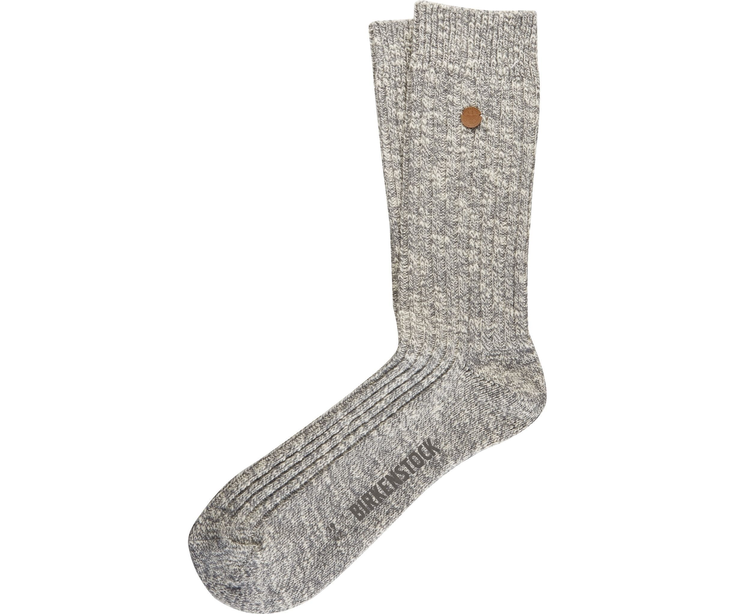 London Sock - White Cotton Lycra
