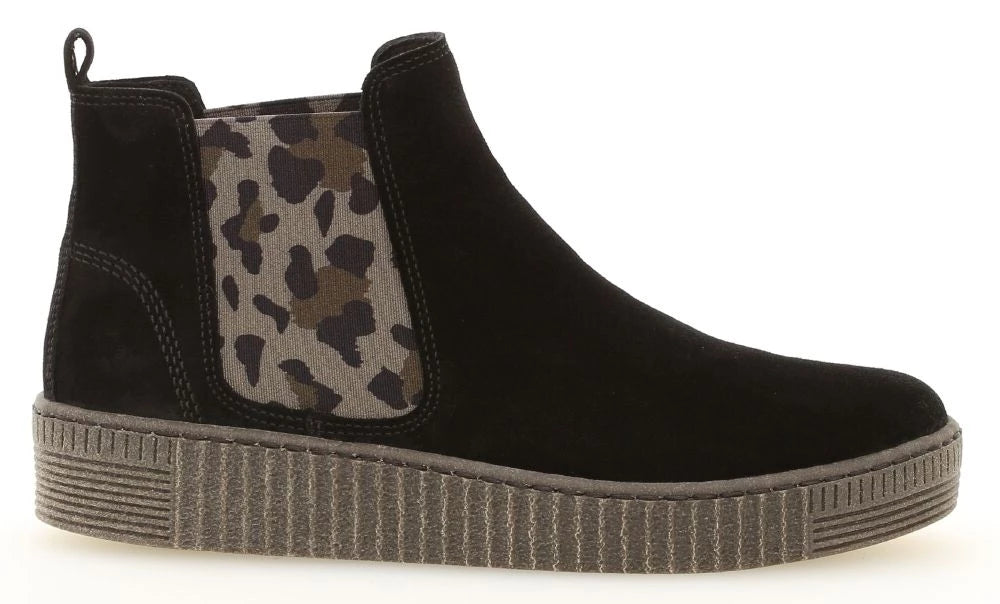 33.731-37 - Chelsea Boot Suede Black