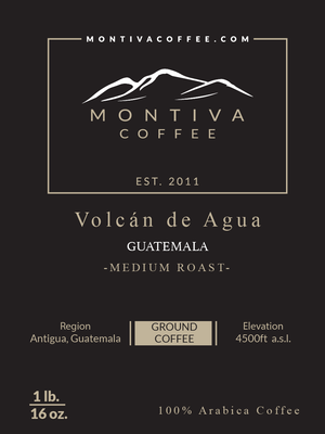 Volcan de Agua- Medium Roast (1lb)