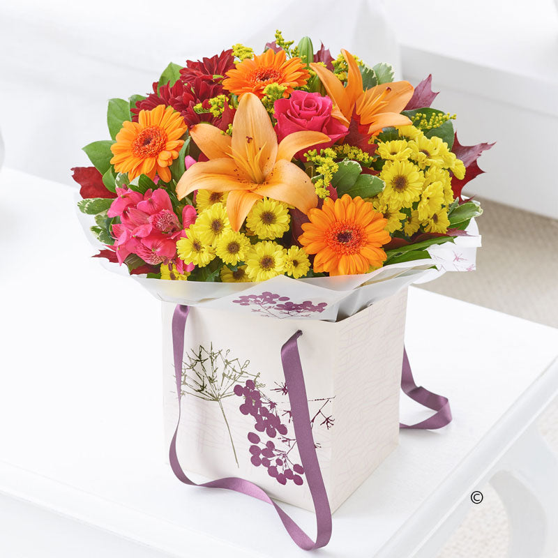 Autumn Gift Bag - Abi's Arrangements Ltd