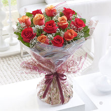 Autumn Rose Hand Tied