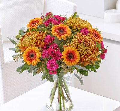 Autumn Haze Bouquet - Abi's Arrangements Ltd