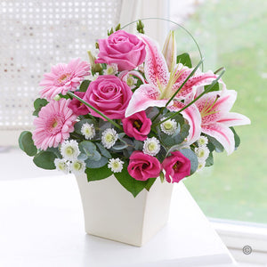 Exquisite Container Arrangement