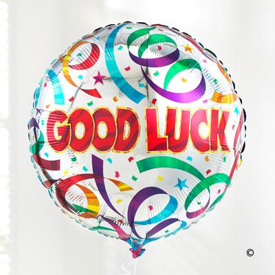 Good Luck Balloon - Abi's Arrangements Ltd