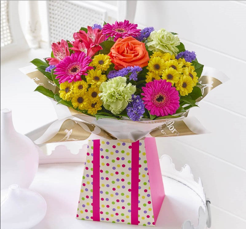Vibrant Gift Box - Abi's Arrangements Ltd