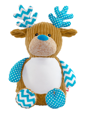 Cupcake the Blue Reindeer