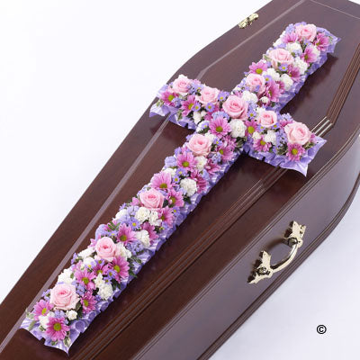 Pink and Lilac Classic 3ft Cross