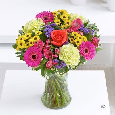 Joy Vase Arrangements - Abi's Arrangements Ltd