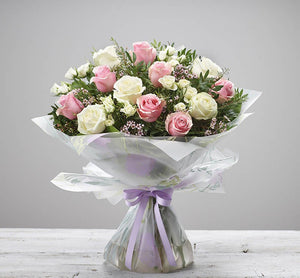 Exquisite Rose Hand Tied