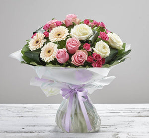 Mother's Day Majestic Hand Tied - Abi's Arrangements Ltd