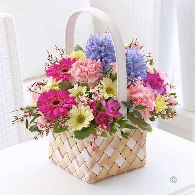 Colourful Spring Basket