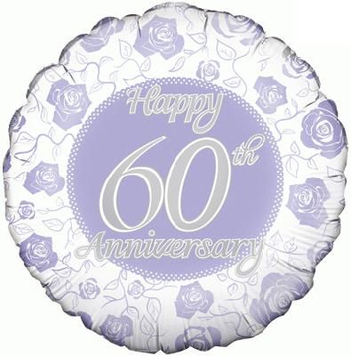 60th Anniversary Balloon