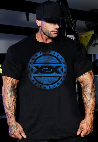 All-Star-X T bodybuilding tshirts, top quality soft cotton workout clothing.