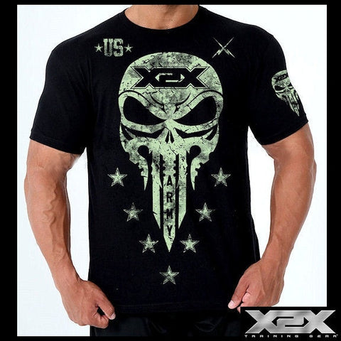 Battle X bodybuilding tshirts, top quality soft cotton workout clothing.