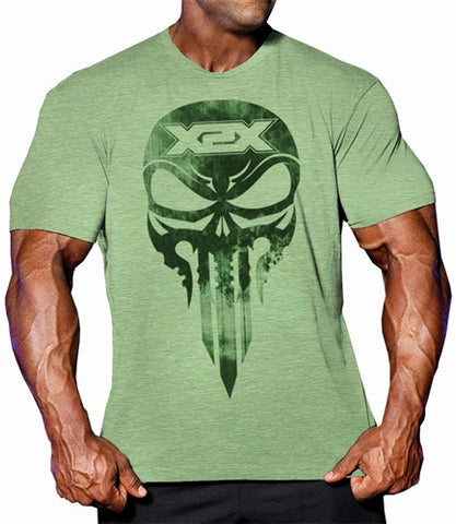 Battle X T bodybuilding t shirts, top quality soft cotton workout clothing.