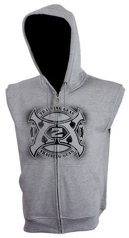 Circle Axe 2.0 Sleeveless Fleece Hoodie