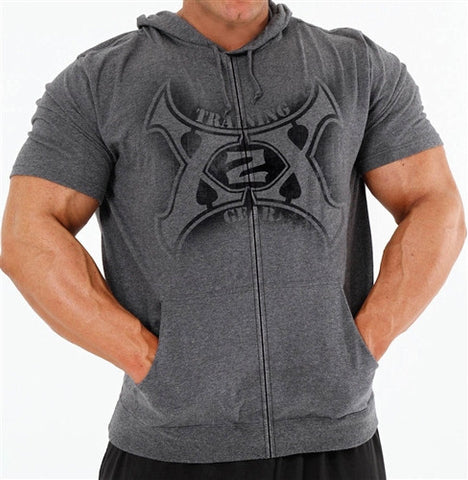 Circle-X Gym Hoodie S/S (Form fitting so add 1 size)