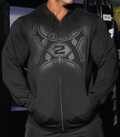 Circle-X Gym Hoodie L/S (Form fitting so add 1 size)
