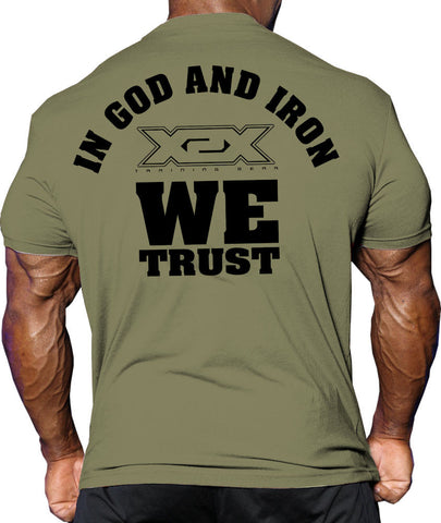Bodybuilding Tshirts X-Trust Tee - MIlitary Green
