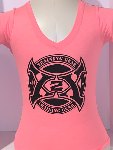 Ladies Circle Axe Tee