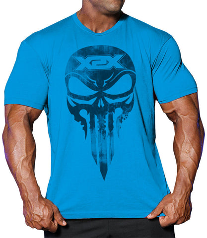 Battle-X 2.0 T Ocean Blue - Bodybuilding Tshirts