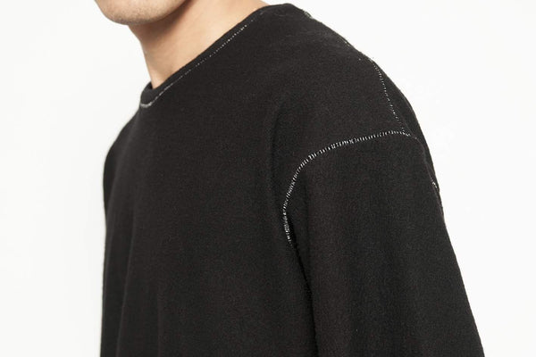 Loose Fitting Sweat Shirt - lumenetumbra