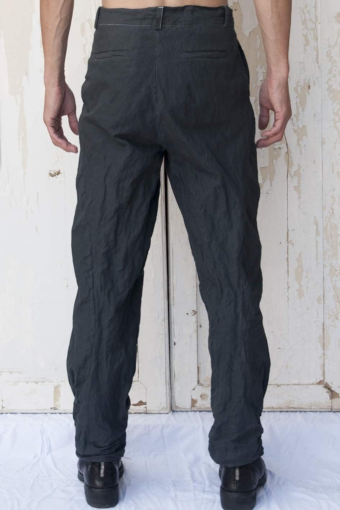 Cotton Metal Katana Trousers - lumenetumbra