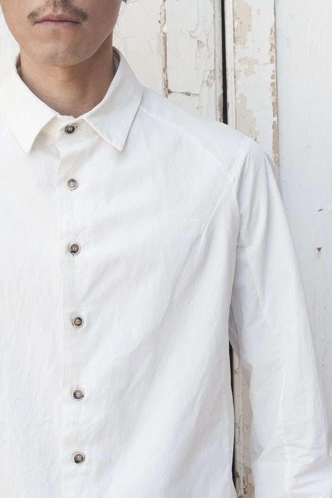 Raglan Sleeve Super Dry Cotton Shirt - lumenetumbra