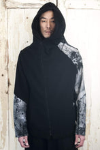 3D Loop Zip Up Hoodie Painted by Richard Blackstar - lumenetumbra