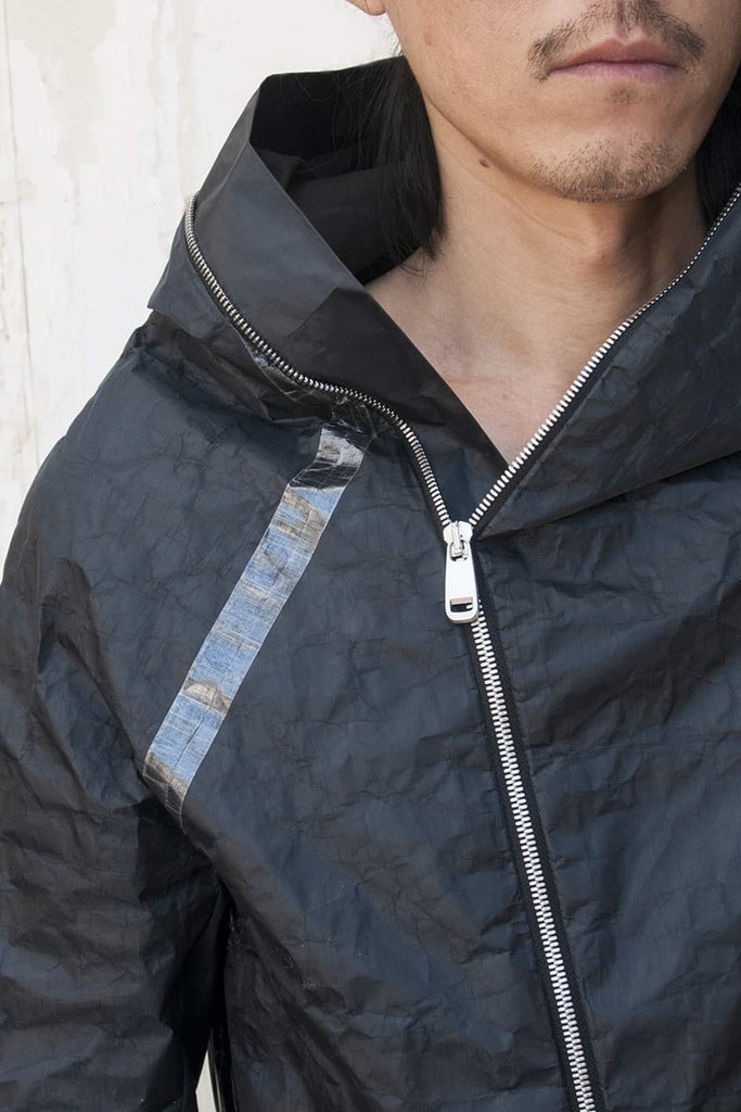 Masaki Waterproof Ultra-Lightweight 3D Loop Up Hoodie Jacket - lumenetumbra
