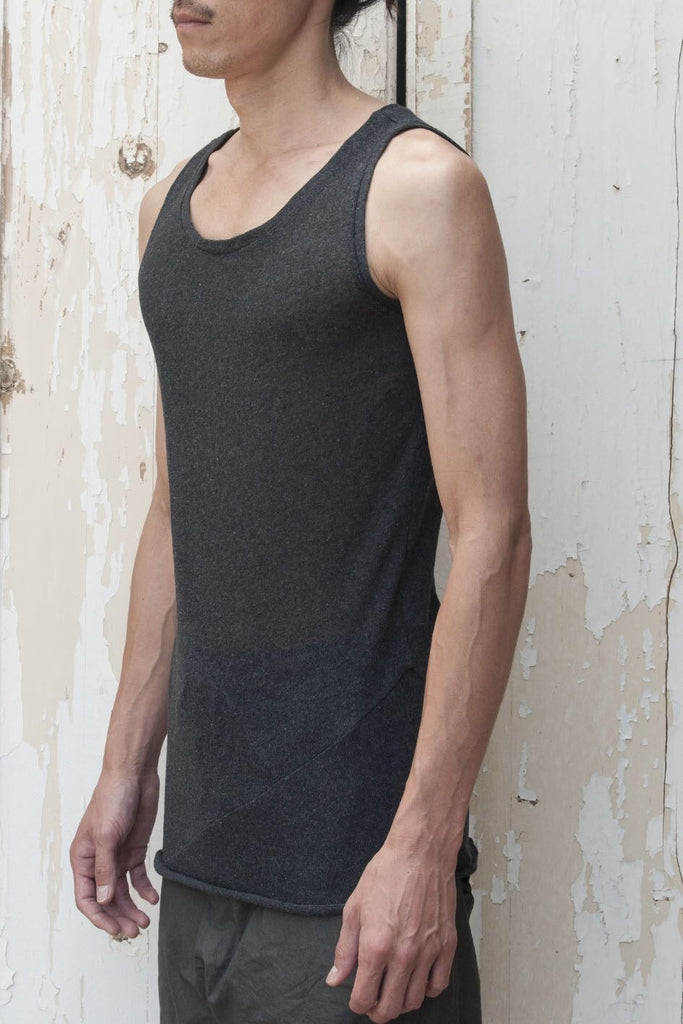 Ecological Cotton Jersey Tank Top - lumenetumbra