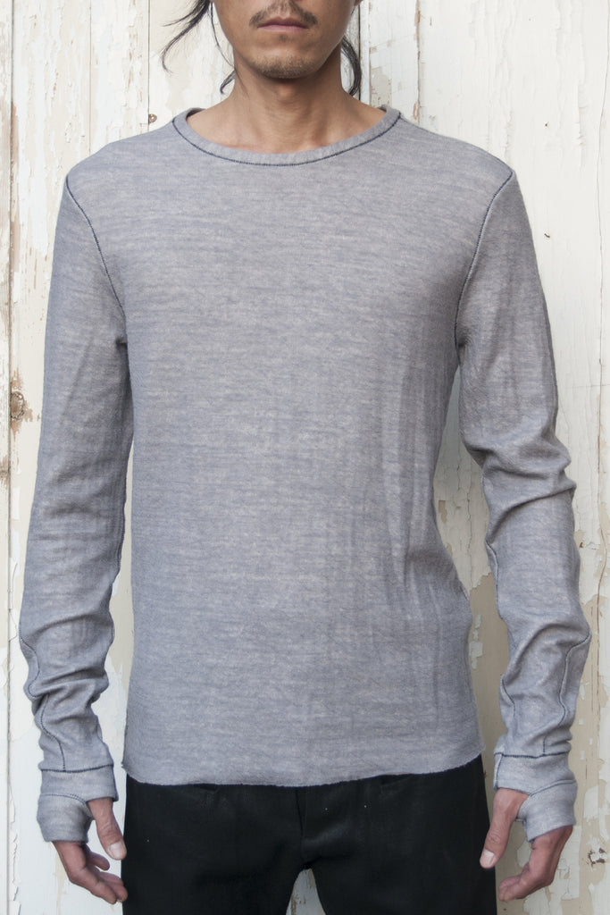 Wool Cotton Glove T-shirt - lumenetumbra