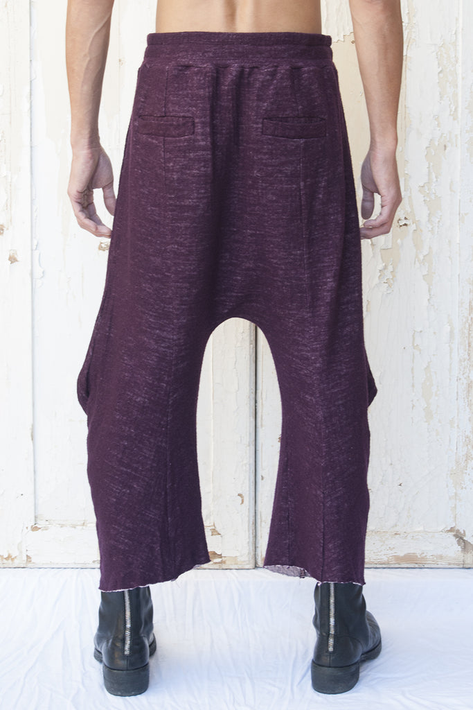 3D Cut Drawstring Trousers - lumenetumbra
