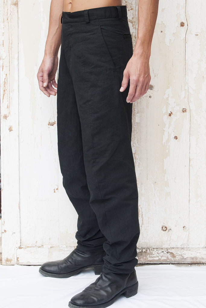 Cotton Metal Katana Trousers