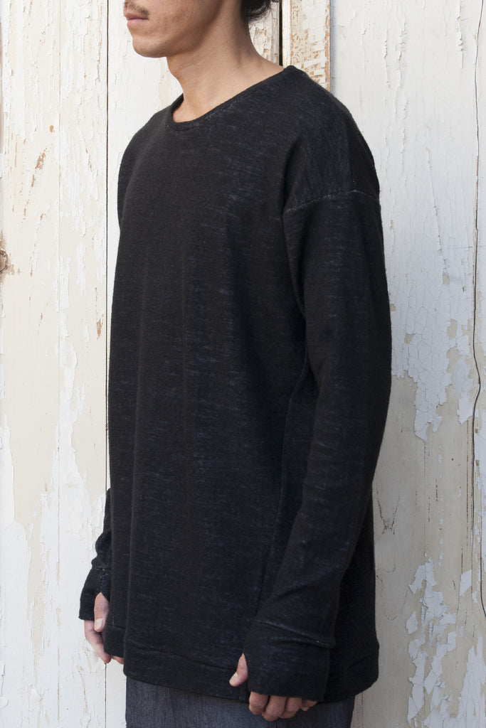 Reflective Seam Kimono Long Sleeves T-shirt