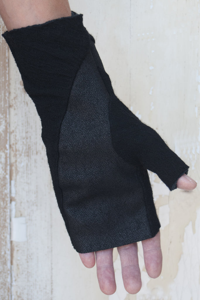 Unisex Cashmere Wool Cotton Gloves