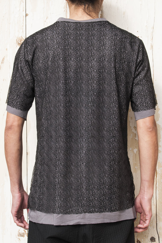 Double Layer Mesh T-shirt