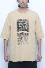 Calligram Country-America Print Loose Fitting T-shirt - lumenetumbra